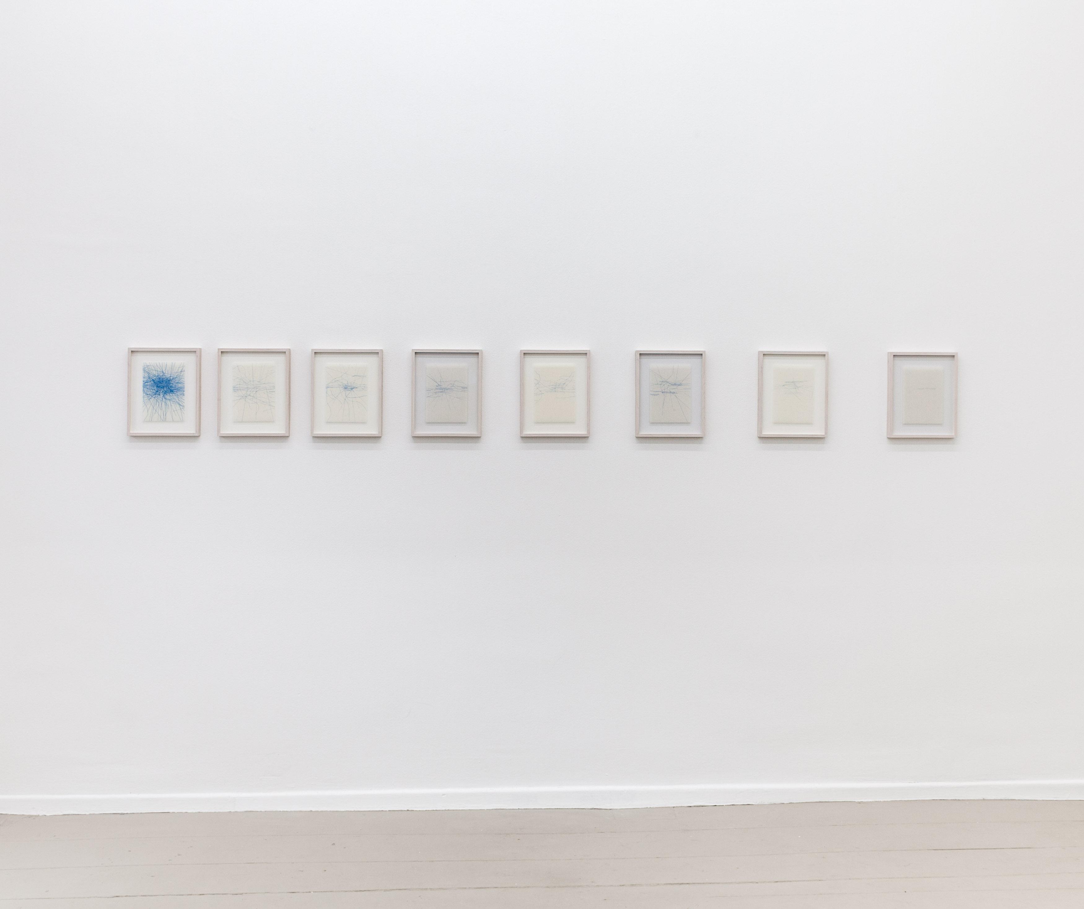 Paula Doepfner - Oh me, oh my, I´m sittin´ and thinkin´ of the days gone by (I-VIII), 2013