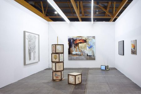 Art Brussels with works by Annabel Daou, Mariechen Danz and Angelika J.Trojnarski
