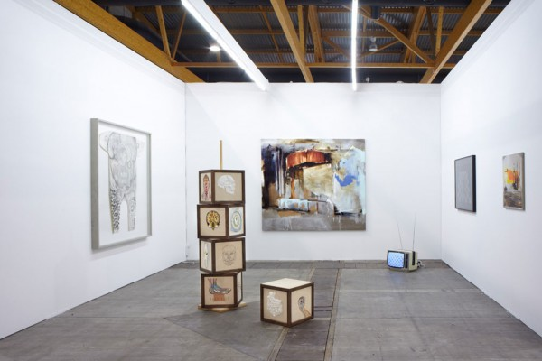 Art Brussels with works by Annabel Daou, Mariechen Danz and Angelika J.Trojnarski