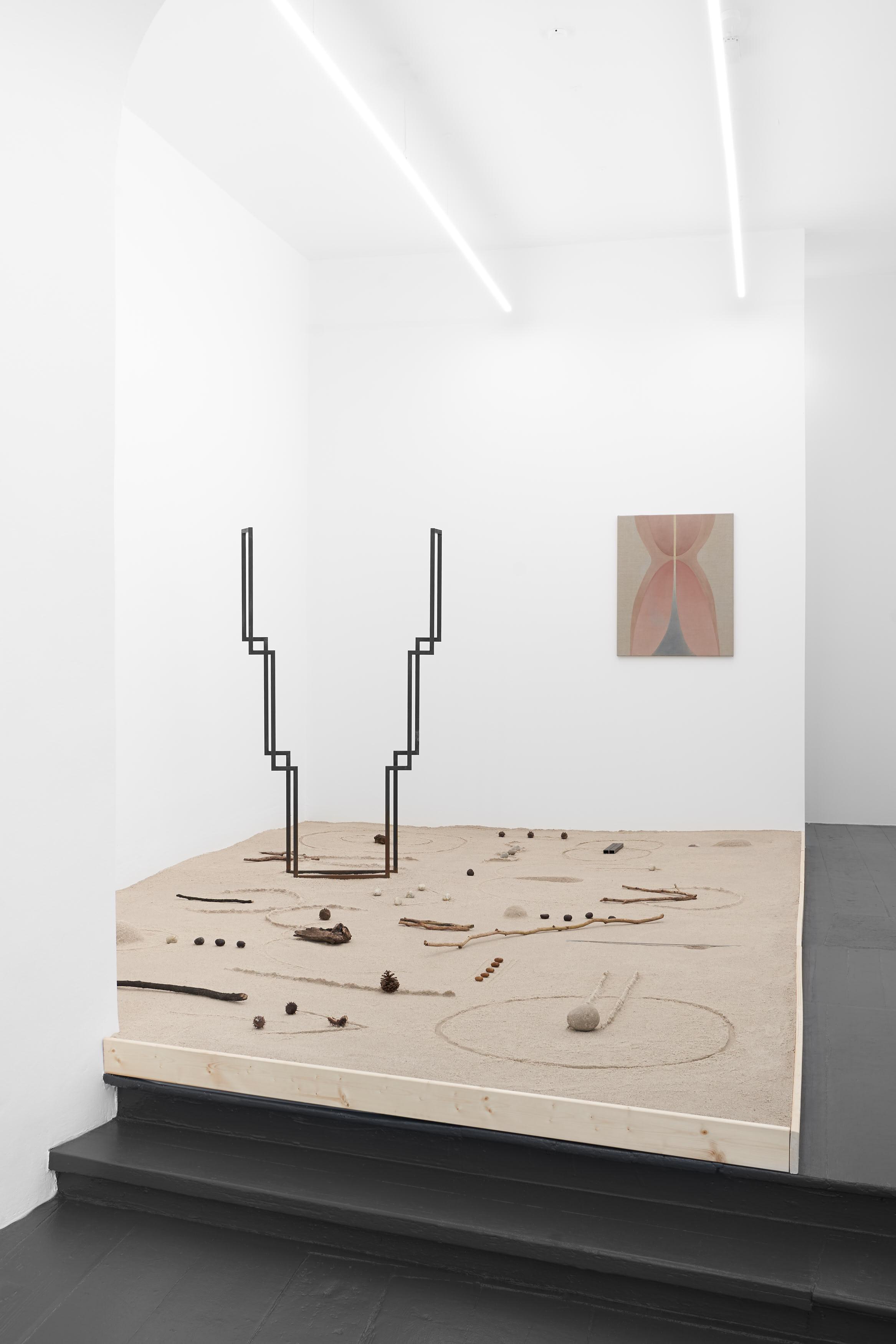 Rachel Garrard - Metamorphosis of the First Form, 2021